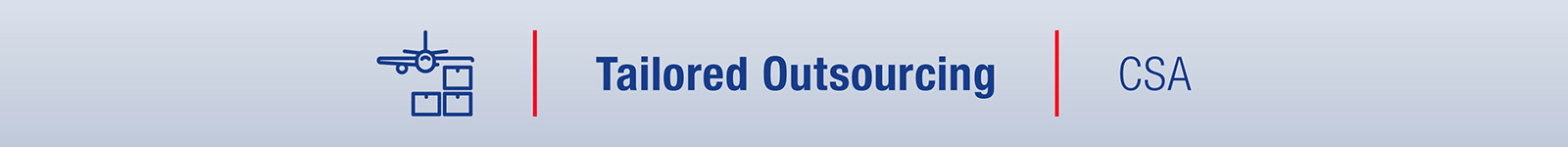 Fly Us Tailored Outsourcing CSA1
